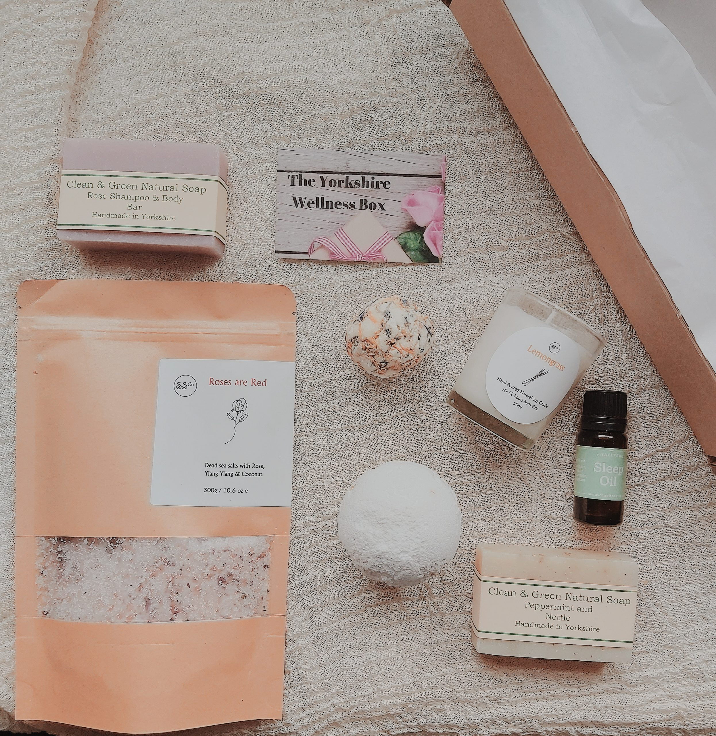 Luxury Bath Sustainable Self Care Gift Box Choose Conscious