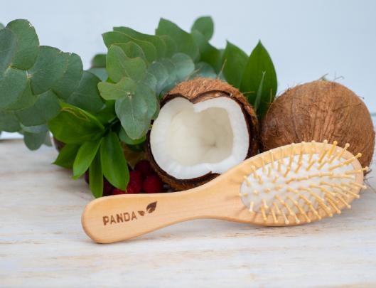 Bamboo Hairbrush Lifestyle