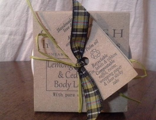Lemongrass, Cedarwood & Cypress Body Lotion Bar