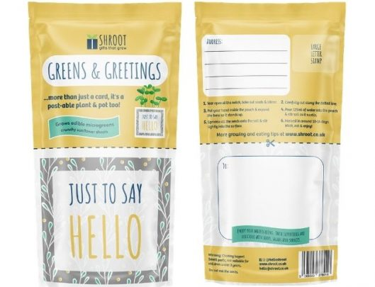 eco friendly greeting cards hello