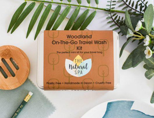 wood travel wash kit