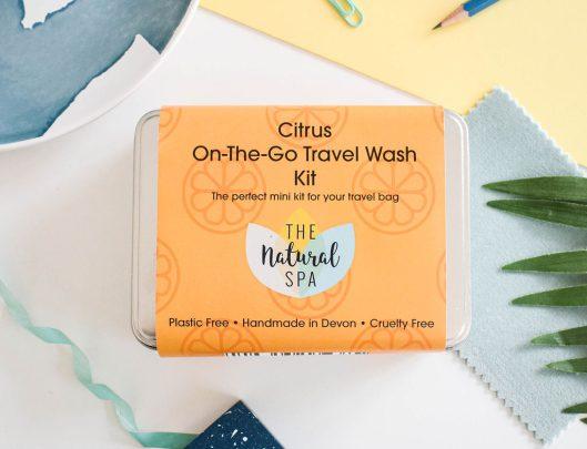 citrus travel wash kit